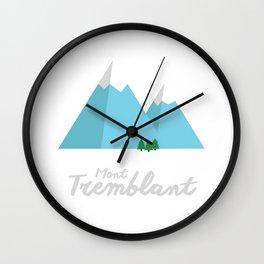 Mont-Tremblant Wall Clock
