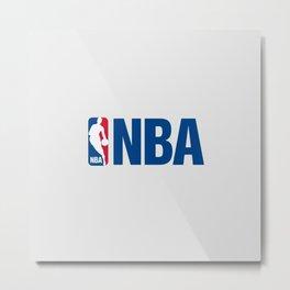 NBA LOGO Metal Print