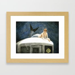 The Montague Street Tunnel Framed Art Print