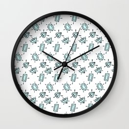 Diamondssssss Wall Clock