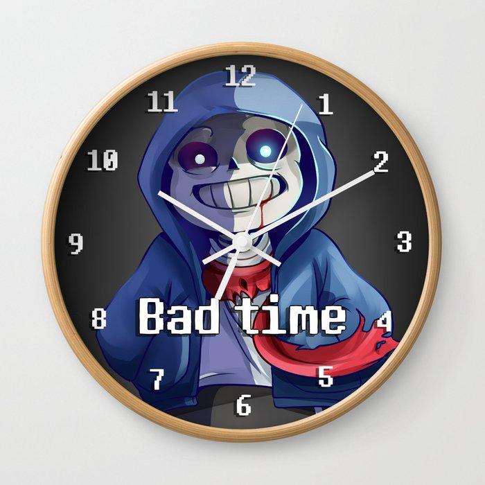 Megalovania Sans Wall Clock