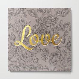 Roses For Love Metal Print