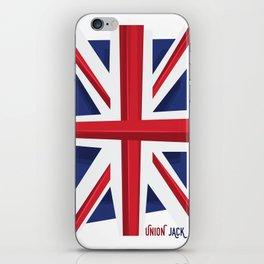 Union Jack Flag iPhone Skin