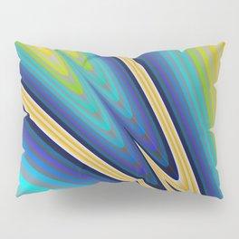 Aurora Borealis Fractal Art Pillow Sham