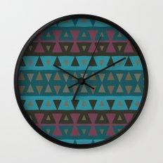 Arizona Peaks Wall Clock