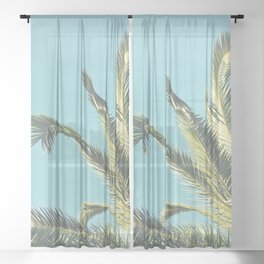Summer Time II Sheer Curtain