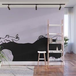 Listen and sleep - Purplevine Wall Mural