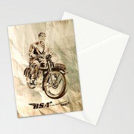 BSA - Vintage Poster Stationery Cards