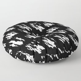 Modern Polka Splotch Floor Pillow