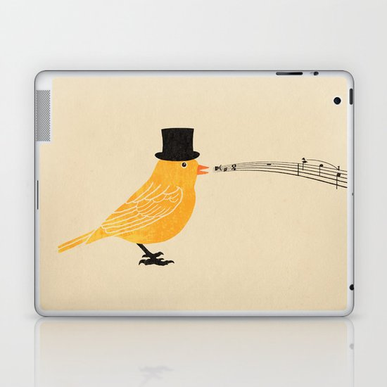 Classical Canary  Laptop & iPad Skin