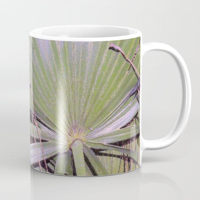 Saw Palmetto Abstract Coffee Mug