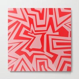 Ice Pink - Coral Reef Series 011 Metal Print