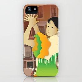 Hispanic Heritage Series - Espana Flamenco Dancer iPhone Case