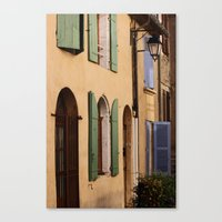 france Canvas Prints featuring France by dora-isa