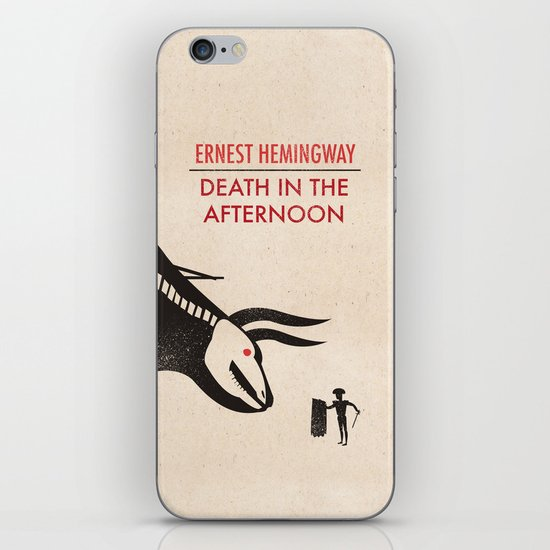 Death in the afternoon iPhone & iPod Skin