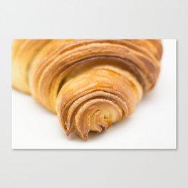 Butter Croissant Canvas Print