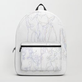 Horse Magic Line Drawing Horse Silhouette Design for #Society6 Backpack