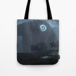 nope. wrong way, turn around Tote Bag