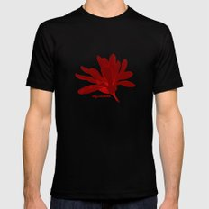 Mother's Magnolia 07 SMALL Mens Fitted Tee Black