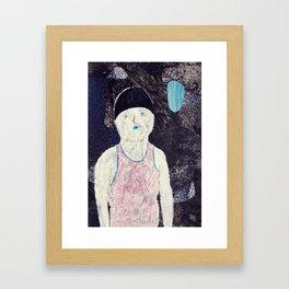 swimmer #1 Framed Art Print