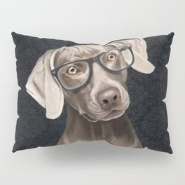 Mr Weimaraner Pillow Sham