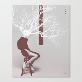 F. Tree Canvas Print