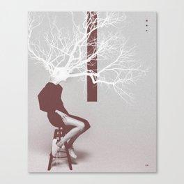 F. Tree Canvas Print
