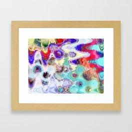 Liquid No1 Framed Art Print