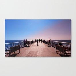 Pantone Pier Canvas Print
