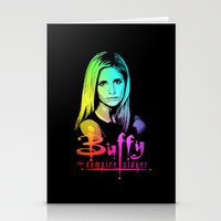 buffy Stationery Cards featuring Buffy Multicoloured by Paul Elder