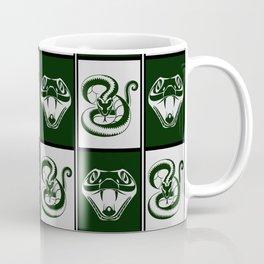 Slytherin Checkerboard Coffee Mug