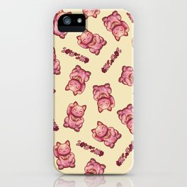 Hanami Maneki Neko: Ai iPhone Case