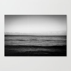 Unforgiving Sea Canvas Print