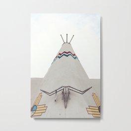 Tucumcari Curiosities Metal Print