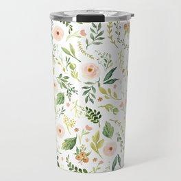 Botanical Spring Flowers Travel Mug