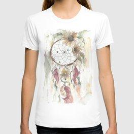 Dream catcher in earthy tones T-shirt