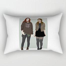 modern day maxanne Rectangular Pillow