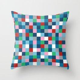 Colour Block #4 Throw Pillow