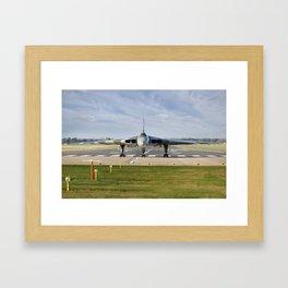 XH558 Vulcan Framed Art Print