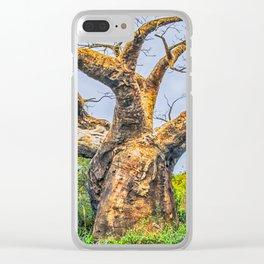 10635 Balboa Tree Clear iPhone Case