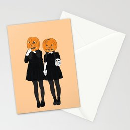 Pumpkin Heads Stationery Cards