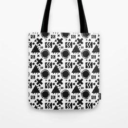 Rugged Geometrix Tote Bag