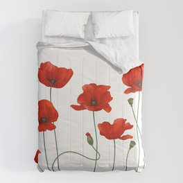 Poppy Stems Comforters