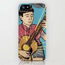 Happy Songs iPhone Case