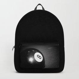 Eight Ball-Black Backpack