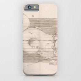 Johann Bayer - Uranometria / Measuring the Heavens (1661) - 29 Capricorn iPhone Case