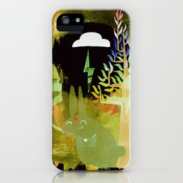 Thinking Spring iPhone Case