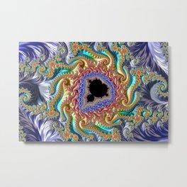 Colorful Slopes Mandelbrot Fractal Metal Print
