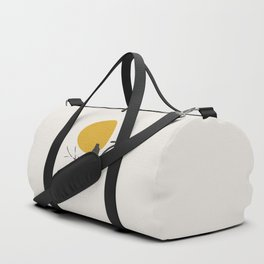 Bird and the Setting Sun Duffle Bag