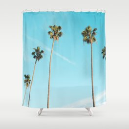 Palm Tree Sunshine Shower Curtain